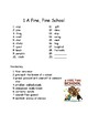 Grade 3 Houghton Mifflin Journeys Unit 1 and 2 Spelling and Vocabulary Lists