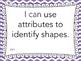 "Grade 3 ""I can"" MATH Learning Target Printables - Purple Chevron"