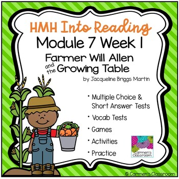 Grade 3 INTO READING Module 7 Week 1 Vocabulary and Comprehension Unit