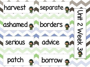 Grade 3 Journeys Unit 2 Vocabulary Cards