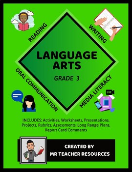 Grade 3 Language Arts Year Package