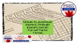 Grade 3 Language Parent Friendly Report Card Comments - All TERMS