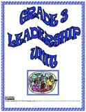 Grade 3 Leadership Unit TADO