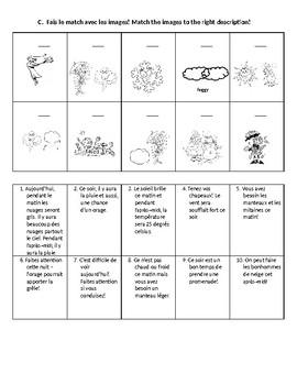 Grade 3 Level 3 Weather Report Activity Student Handout