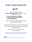 Grade 3 Light Energy Labs