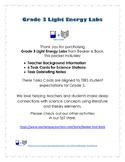 Grade 3 Light Energy Labs