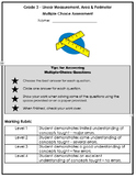 Grade 3 Linear Measurement, Area, Perimeter Multiple Choice Assessment