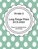 Grade 3 Long Range Plan 2019 - 2020 Saskatchewan
