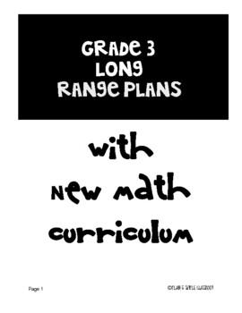 Grade 3 Long Range Plans Ontario