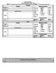 Grade 3 Louisiana CCSS Math Lesson Plan Template (Not MAC Compatible!)