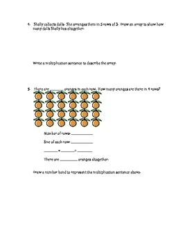 Grade 3 MATH Module 1 Topic A Quiz