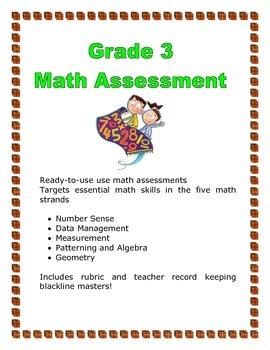 Grade 3 Math Assessment