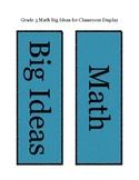 Grade 3 Math: Big Ideas: New BC Curriculum