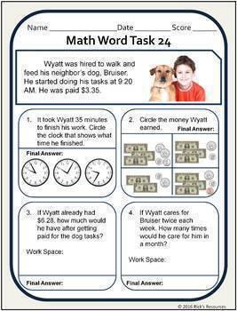 Math Bundle Grade 3