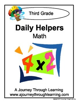 Grade 3 Math Daily Helper Lapbook