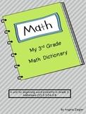 3rd Grade Math Dictionary