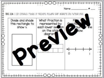 Grade 3 Math Exit Tickets - TEKS 3.3