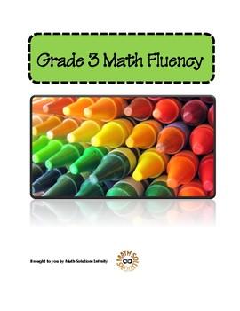 Grade 3 Math Fluency Program COMPLETE