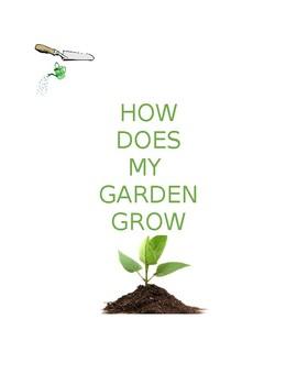 Grade 3 Math Gardening Unit (integrated)