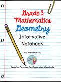 Grade 3 Math: Geometry Interactive Notes
