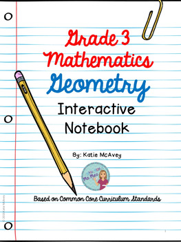 Grade 3 Math: Geometry Interactive Notes
