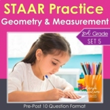 3rd Grade Math STAAR Practice Set 5: Geometry & Measurement  Test-Prep