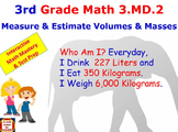 Grade 3 Math Interactive – Measure and Estimate Volumes an