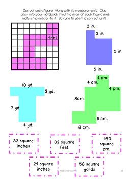 Grade 3 Math: Measurement and Data Interactive Notebook