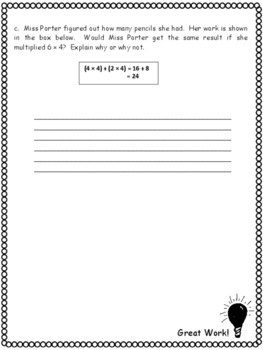Grade 3 Math Module 1 Mid-Review Packets with Answer Keys!