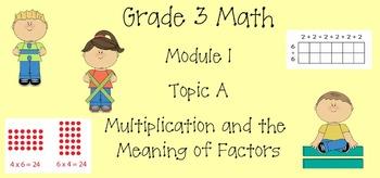 Grade 3 Math Module 1 Topic A