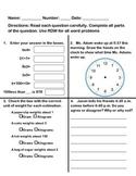 Grade 3 Math Module 2 Mid Module Assessment