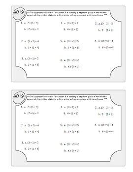 Grade 3 Math Module 3 Application Problems Booklet