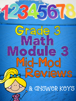 Grade 3 Math Module 3 Mid Module Reviews and Answer Keys