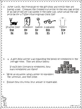 Grade 3 Math Module 3 End Reviews Plus Answer Keys!