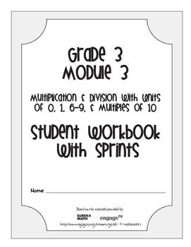 Grade 3 Math Module 3 Student Workbook & Sprints