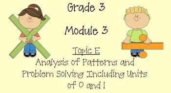 Grade 3 Math Module 3 Topic E