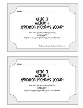 Grade 3 Math Module 4 Application Problems Booklet