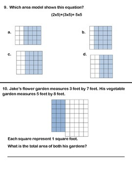 Grade 3 Math Module 4 End of Module Assessment