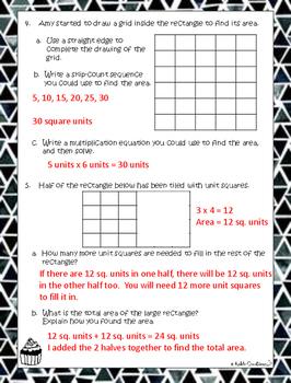Grade 3 Math Module 4 Mid-Reviews