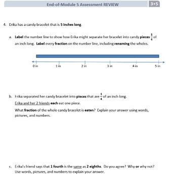 Grade 3, Math Module 5 REVIEW & ASSESSMENT Bundle w/keys (printables & Smart Bd)