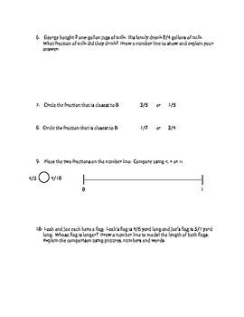 Grade 3 Math Module 5 Topic D QUIZ