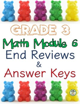 Grade 3 Math Module 6 Reviews & Answer Keys