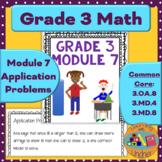 Grade 3 Math Module 7 Application Problems