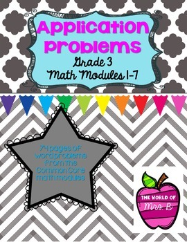 Grade 3 Math Module Application Problems - All modules