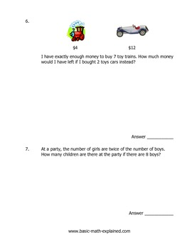 3rd Grade Math Multiplication Problems