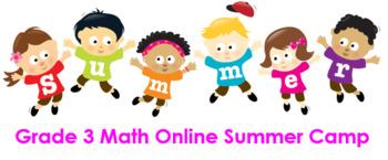 Grade 3 Math Online Summer Camp
