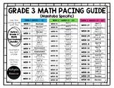 Grade 3 Math Pacing Guide {FREE}