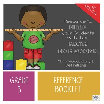 Grade 3 Math Reference Booklet - AMERICAN VERSION