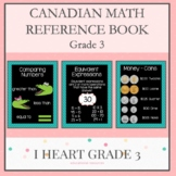 Grade 3 Math Reference Booklet for Canadians