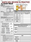 Grade 3 Math SOL Review Pack